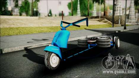 Vespa Gembel Extreme for GTA San Andreas