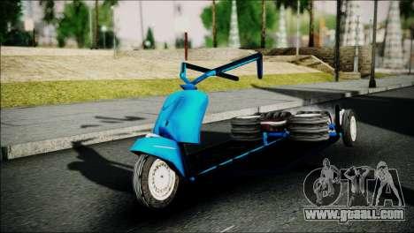 Vespa Gembel Extreme for GTA San Andreas