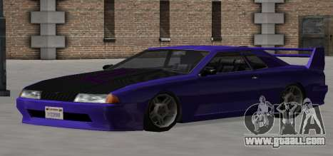 Luni Elegy for GTA San Andreas side view