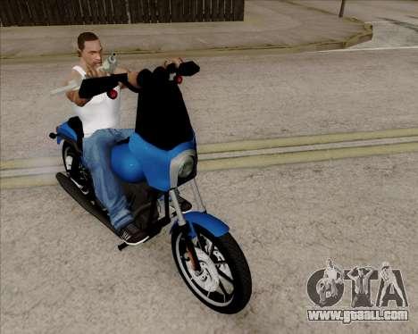 Harley-Davidson FXD Super Glide T-Sport 1999 for GTA San Andreas left view