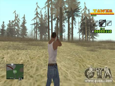 С-HUD by D.Strap for GTA San Andreas second screenshot