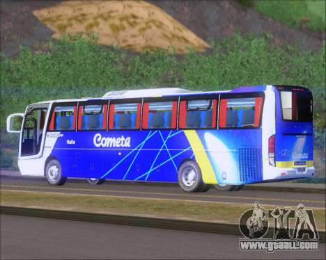 Busscar Vissta Buss LO Cometa for GTA San Andreas right view