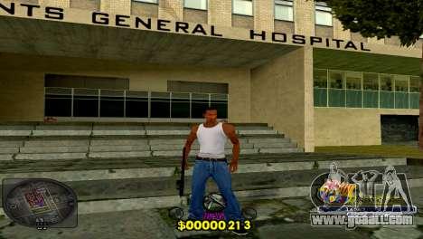 C-HUD Barcelona for GTA San Andreas