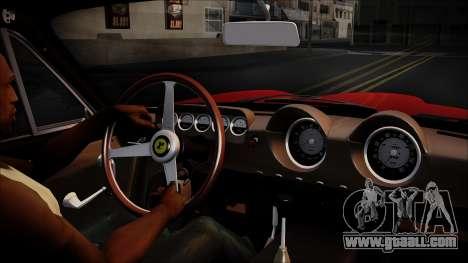 Ferrari 250 GT Berlinetta Lusso 1963 [ImVehFt] for GTA San Andreas right view