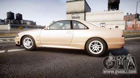 Nissan Skyline R33 GT-R V.spec 1995 for GTA 4 left view