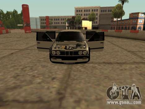 BMW M3 E30 Drift for GTA San Andreas left view