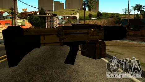 Combat MG from GTA 5 for GTA San Andreas second screenshot