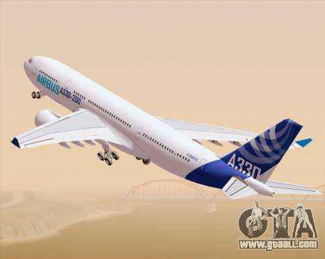 Airbus A330-200 Airbus S A S Livery for GTA San Andreas left view