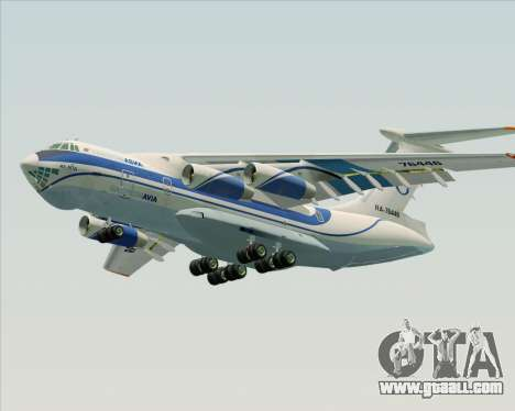 IL-76TD Gazprom Avia for GTA San Andreas engine