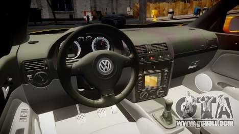 Volkswagen Golf Mk4 Variant for GTA 4 back view