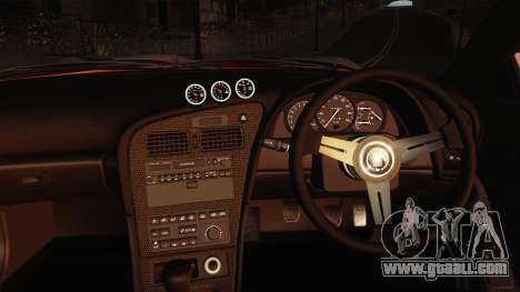 Toyota Celica GT-Four for GTA San Andreas inner view