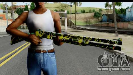 Grafiti Shotgun for GTA San Andreas