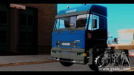 Iveco Eurotech (No Snow) for GTA San Andreas right view