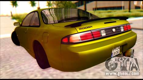 Nissan Silvia S14 Civilian for GTA San Andreas left view