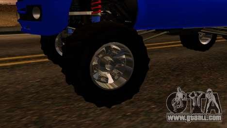 GTA 5 Vapid Sandking XL IVF for GTA San Andreas back left view