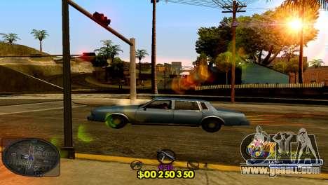 C-HUD Barcelona for GTA San Andreas second screenshot