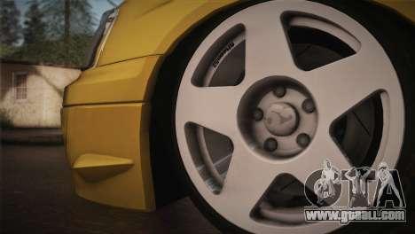 Subaru Impreza WRX STI JDM Style 2015 for GTA San Andreas back left view