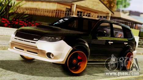 Subaru Forester Stanced for GTA San Andreas