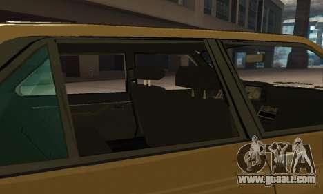 Renault 18 for GTA San Andreas wheels