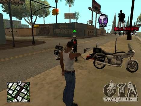 C-HUD by Alesha for GTA San Andreas third screenshot