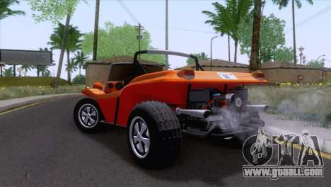 Volkswagen Dune Buggy 1975 for GTA San Andreas left view