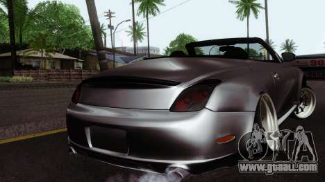 Lexus SC430 for GTA San Andreas left view