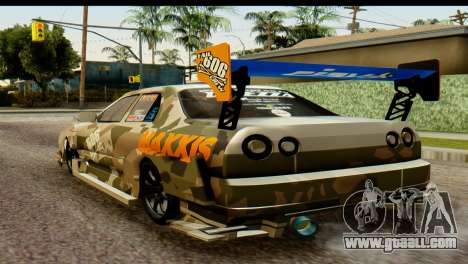 Nissan Skyline R34 Maxxis GT for GTA San Andreas left view