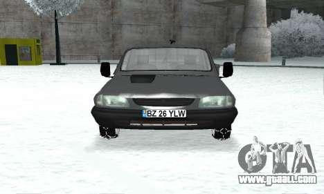Dacia 1305 Papuc Pick-Up Drop Side 1.9D for GTA San Andreas back view
