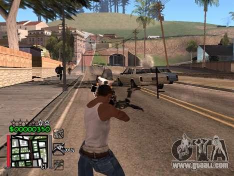 Classic C-HUD 3.4 by Niko for GTA San Andreas