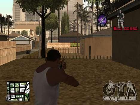 C-HUD by Alesha for GTA San Andreas