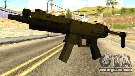 MP5 from GTA 5 for GTA San Andreas
