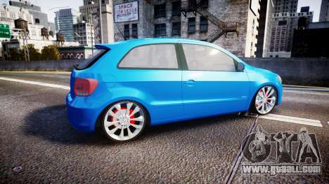 Volkswagen Gol G6 iTrend 2014 rims2 for GTA 4 left view