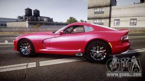 Dodge Viper SRT 2012 for GTA 4