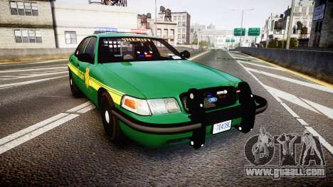 Ford Crown Victoria Sheriff [ELS] green for GTA 4