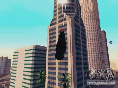 Spiderman Swinging v2.1 for GTA San Andreas