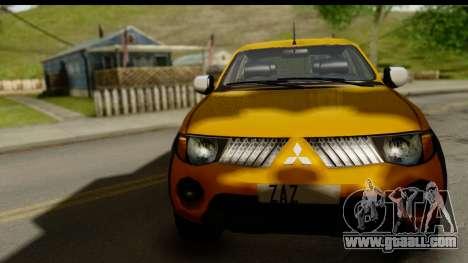 Mitsubishi L200 Triton v1.0 for GTA San Andreas back left view