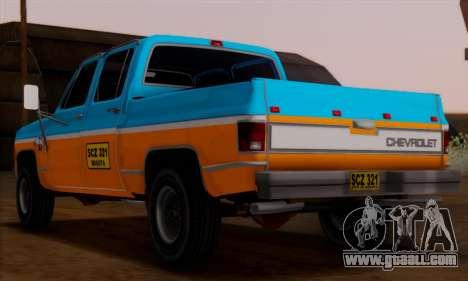 Chevrolet Custom Deluxe for GTA San Andreas left view