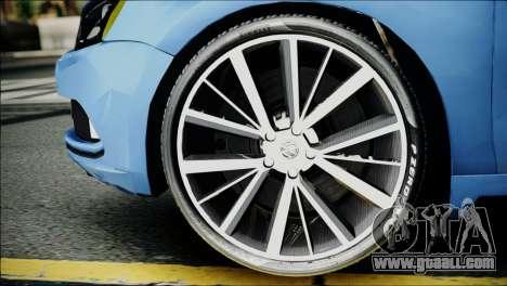 Volkswagen Jetta 2015 for GTA San Andreas back left view