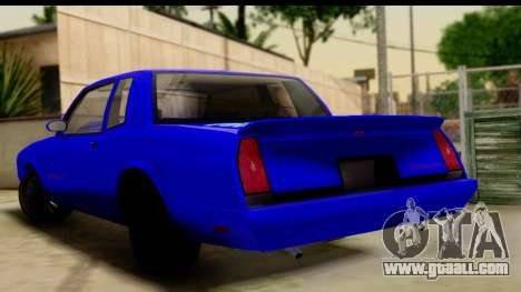 Chevy Monte Carlo for GTA San Andreas left view
