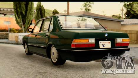 BMW M5 E28 Edit for GTA San Andreas left view