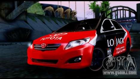 Toyota Corolla 2012 LOJACK Racing for GTA San Andreas