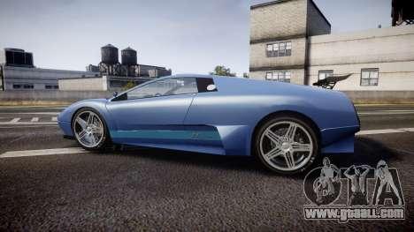 Pegassi Infernus GTA V Style for GTA 4 left view