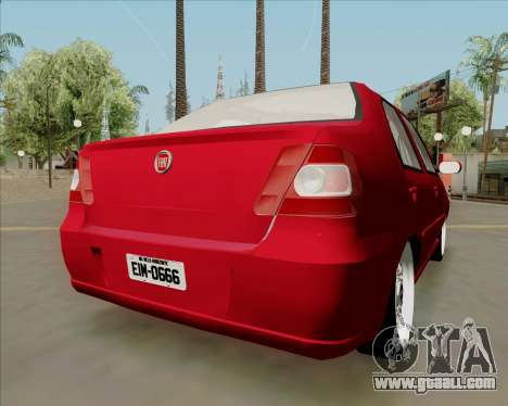 Fiat Siena 2008 for GTA San Andreas left view