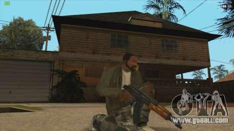 AK47 из Killing Floor for GTA San Andreas second screenshot