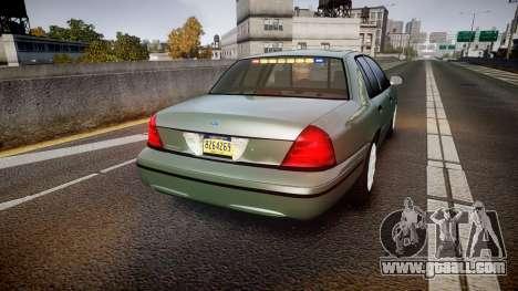 Ford Crown Victoria Police Interceptor [ELS] for GTA 4 back left view