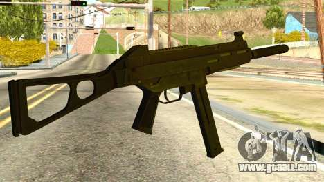 UMP45 from Global Ops: Commando Libya for GTA San Andreas second screenshot