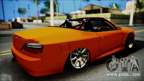 Nissan Silvia S15 Varietta for GTA San Andreas back left view
