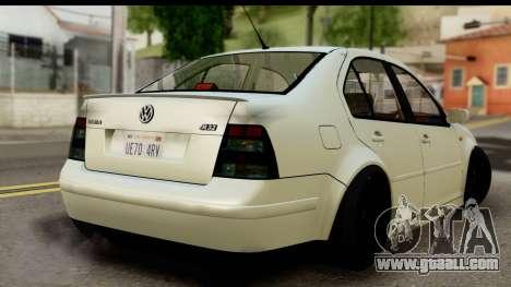 Volkwagen Jetta Mk4 for GTA San Andreas