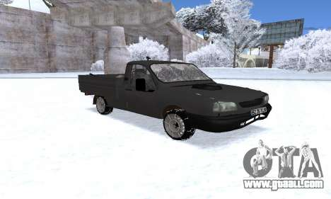Dacia 1305 Papuc Pick-Up Drop Side 1.9D for GTA San Andreas
