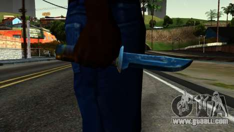 Knife from Kuma War for GTA San Andreas third screenshot
